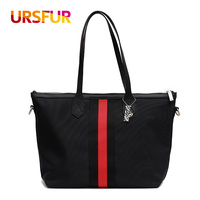 URSFUR Women Bags Fashion Oxford Women S Handbags Large Capacity Top Handle Bags Casual Totes Female