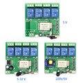 Original Sonoff 4 Canais Wi-fi Sem Fio Interruptor Avançando/Self-Locking/Modo de Inter-Bloqueio Com Controle Remoto RF