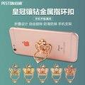 360 Градусов Палец Кольцо Мобильный Телефон Смартфон Стенд Держатель Для iPhone iPad Xiaomi все Смартфон Класса Люкс Пару Моделей