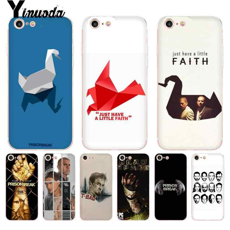 Yinuoda Para iphone 7 6 X Caso Michael Scofield Prison Break Coque Shell Caixa Do Telefone para iphone 6 6S plus 7 7plus 8 8Plus X XS XR