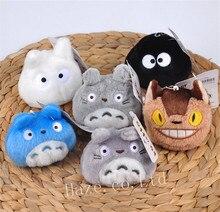 6PCS Studio Ghibli My Neighbor Totoro Plush Dango Toy Stuffed Doll 3