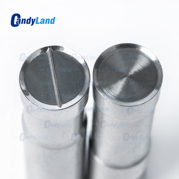 CandyLand 10mm Blank Milk Tablet Die Pill Press Die Sugar Tablet Stamper Customized Logo Punch Die Tool For TDP5 Machine