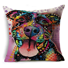 Pillow Case Pitbull Cushion Cover –  Decorative Throw Pillow Covers