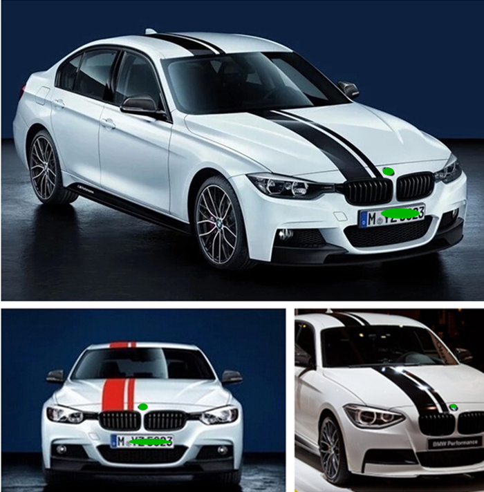 Popular Bmw Hood VinylBuy Cheap Bmw Hood Vinyl Lots From China - Bmw vinyl stickers