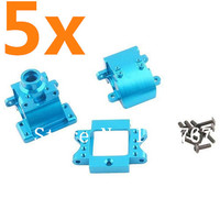 Wholesale 5Set Lot Alum Alloy Gear Box With Screw 10 Upgrade Parts 122275 For 1 10