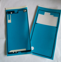 10Sets Front+Back Adhesive Glue Tape Sticker For Sony Xperia Z L36h C6602 C6603 LCD Housing Frame Plate Back Battery Door Cover