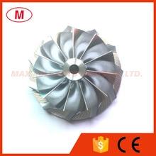 K04 турбокомпрессор алюминиевый 2618/фрезерный компрессор колеса/турбо заготовка компрессора колеса 42,00/56,08 мм 11+ 0 лезвия обратного хода
