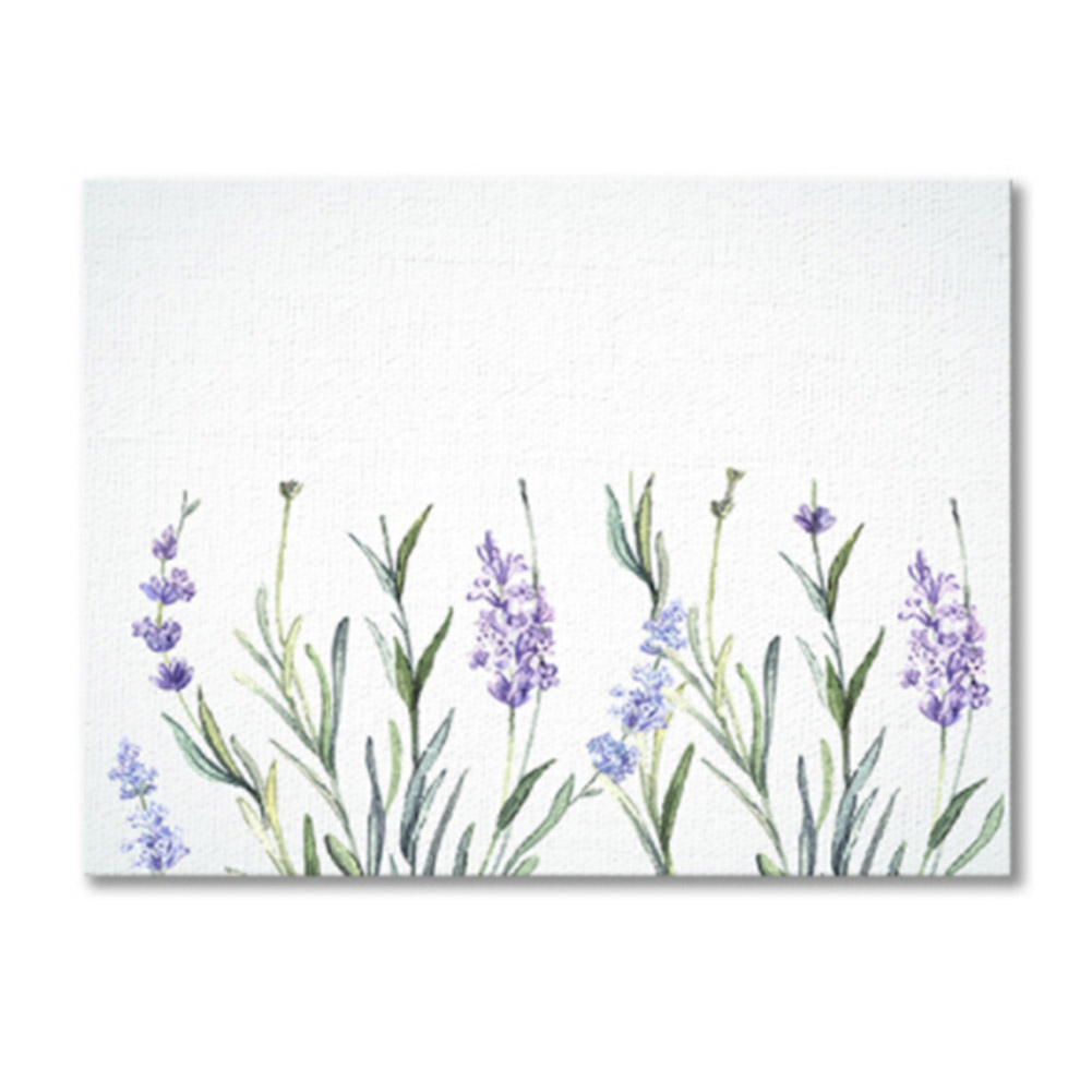 Creative DIY coloring by numbers finger graffiti lavender decoration wedding birthday fingerprint sign