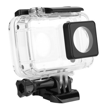 цена на 40M Diving Waterproof Case for Xiaomi YI 4K Xiaoyi 2 Action Camara Protective Housing Case for Yi 4K Accessories