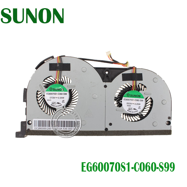 US $10 0 |Brand New Laptop Cooling CPU FAN Repair Replacement for Lenovo  Y50 70 Touch Series EG60070S1 C060 S99 DFS501105PQ0T-in Fans & Cooling from