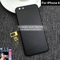 6 Розового Золота Обратно Жилья Для Iphone 6 Назад Корпус Черного Золота средний Кадр 6 4.7 Серый Синий Красный Золотой Черный Корпус Бесплатный ТПУ лента