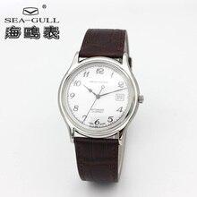Seagull อัลตร้า 9 มิลลิเมตรหนาคลาสสิก 3 มือ Self   winding ST1812 การเคลื่อนไหวอัตโนมัติวันที่อัตโนมัติชายชุดนาฬิกา 819.332