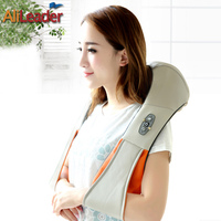 Human Stimulated Kneading Massage Pillow With Heat For Back Neck Shoulder Waist Pain Relief Health Products