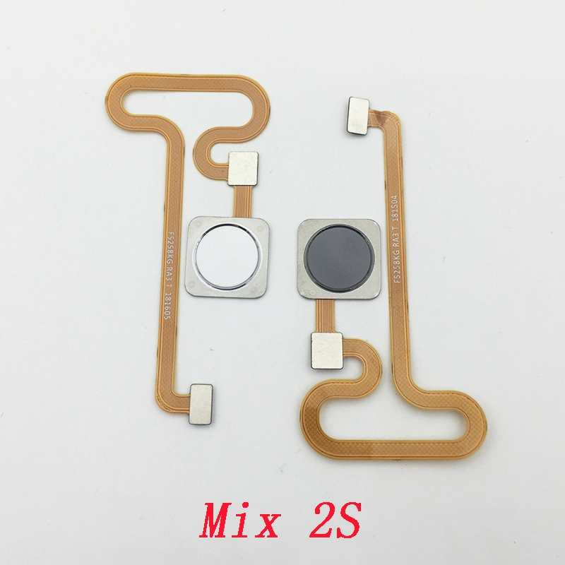 US $3 98 |For Xiaomi Mi Mix 2 2S Mix2 Mix2s Fingerprint Scanner Touch  Sensor ID Home Button Return Keypad Flex Cable-in Mobile Phone Flex Cables  from
