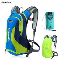 ANMEILU 10L Waterproof Camping Backpack 2L Water   Bag   Outdoor Sport   Bag   Rucksacks Climbing Hiking Cycling Backpack Rain Cover