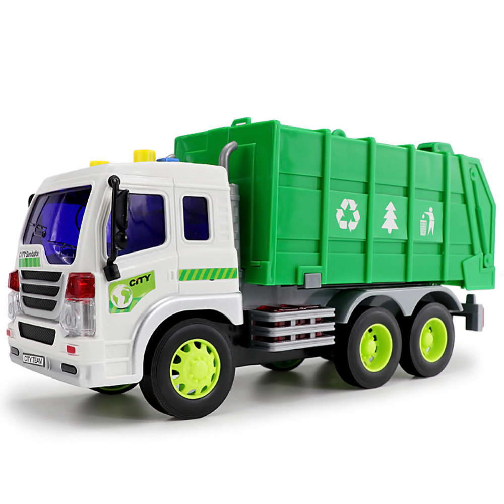 New Simulation of Engineering Vehicles Garbage Trucks Dumpers with Inertia (with Sound and Light) Wholesale ...
