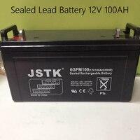 12V 100AH Sealed Lead Battery Maintenance Free 12V Storage Battery Solar System 12V 100AH Battery
