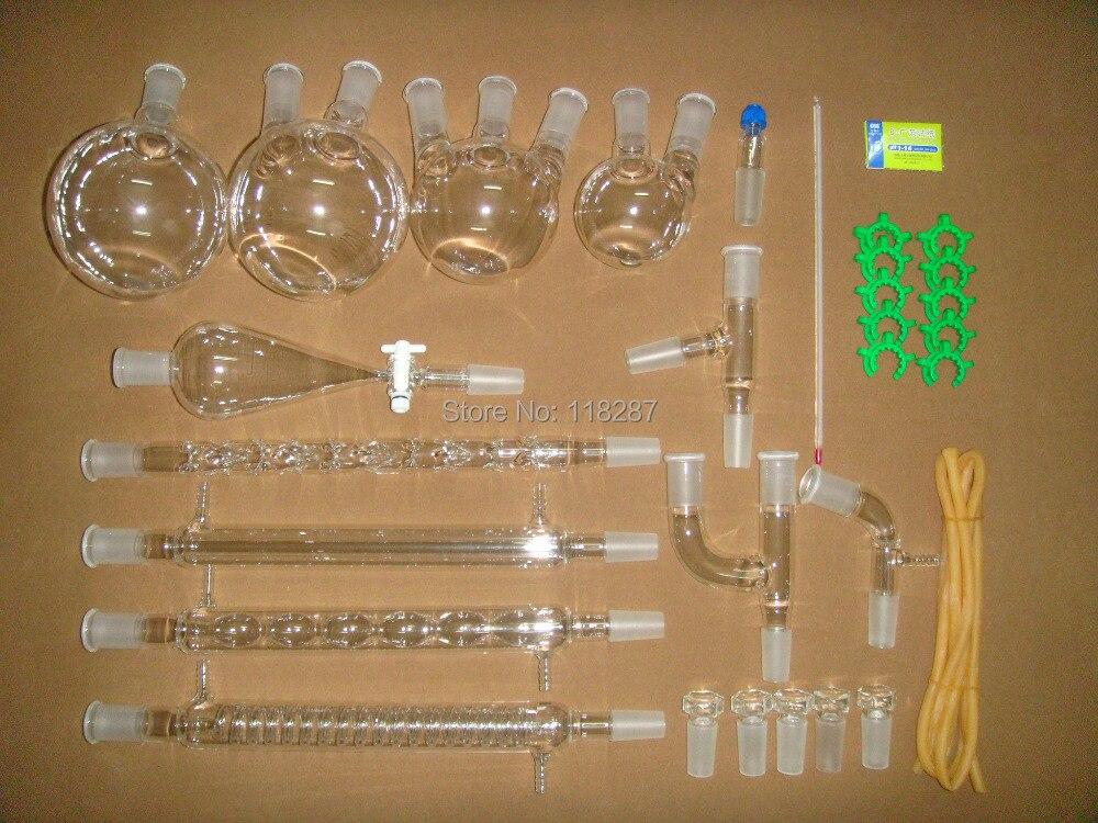 SUPERIOR Advanced Chemistry Lab Glassware Kit 24 40 lab glassware kit 24 40