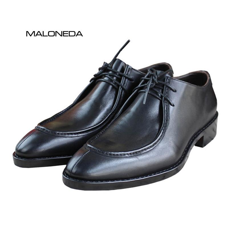 Хорошее качество Мужская Handmade Goodyear - Мужская обувь