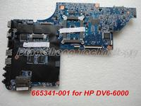 HOLYTIME laptop Motherboard for hp DV6 DV6 6000 notebook mainboard 665341 001 HM65 1GB 100% Tested