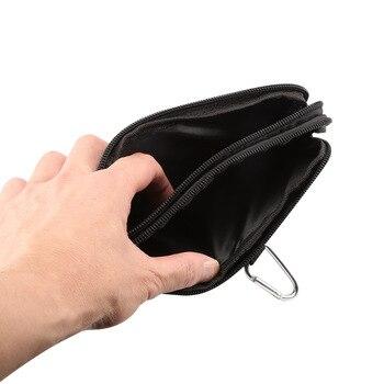 Phone Pouch For xiaomi redmi note 5 pro mi max 3 mi8 a2 PocoPhone F1 redmi 6X 6 5 4x Belt Clip Cowboy Cloth Casual Waist Bags 4