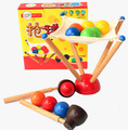 candice guo! Montessori educational wooden toy challenge for the ball balance training parent-child game early learning 1set
