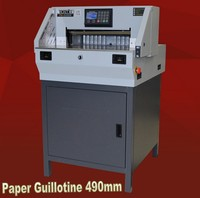 2020 Upgrade Digital Programmable Paper Cutter Machine Guillotine 80mm Thick 19inch width