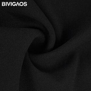 Image 5 - BIVIGAOS wiosna lato nowe panie koreański OL czarne spodnie Harem oddychające cienkie spodnie ołówkowe na co dzień prosty garnitur spodnie dla kobiet
