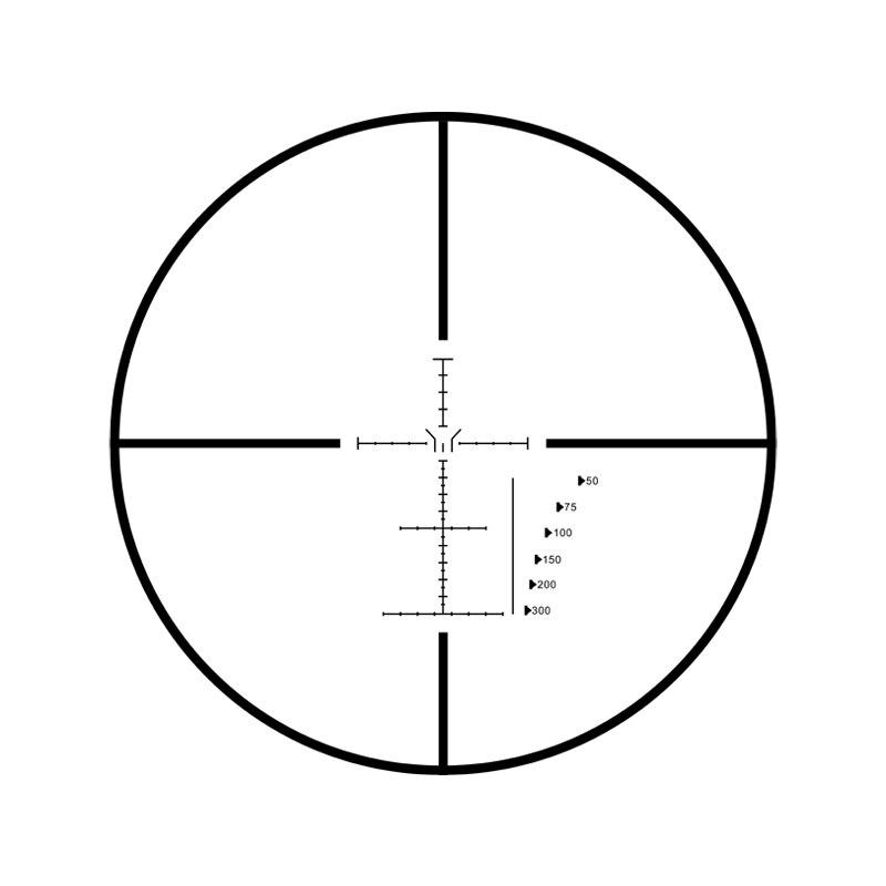 Marcool EVV 6-24X50 SFIRGL FFP Re-zero Turret-Lock Big Guns Optics Sights Scope Riflescope Optical Collimator Sight For Hunting