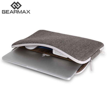 "GEARMAX Portable Doublure Manches Sac Pour Dell XPS Notebook Case Sac D'ordinateur Smart Cover pour 11 ""13"" 15 ""Macbook Air Pro Retina"