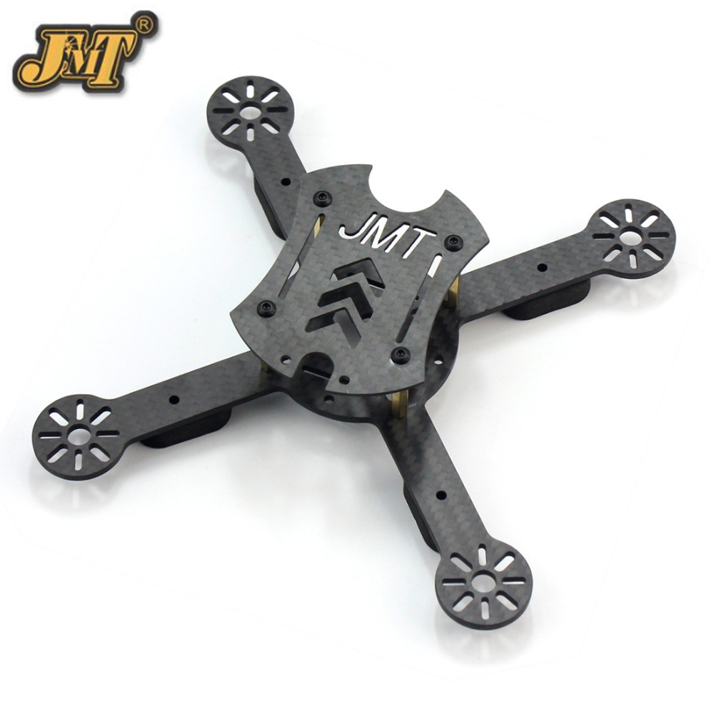 JMT X180 180mm Carbon Fiber Racing Drone Frame RC Quadcopter Super Light Mini DIY RC Racer Body Frame Kit F21233 jmt x180 diy quadcopter pnp assembled racer kit 180mm super light mini rc racing drone with osd fpv hd camera no rx tx battery