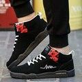 Nuevos Hombres de la Moda Planos Ocasionales Zapatos de Skate de Alta Superior Mans Mens Entrenadores Calzado Caminar Al Aire Libre Zapatillas Hombre Zapatos Para Hombre