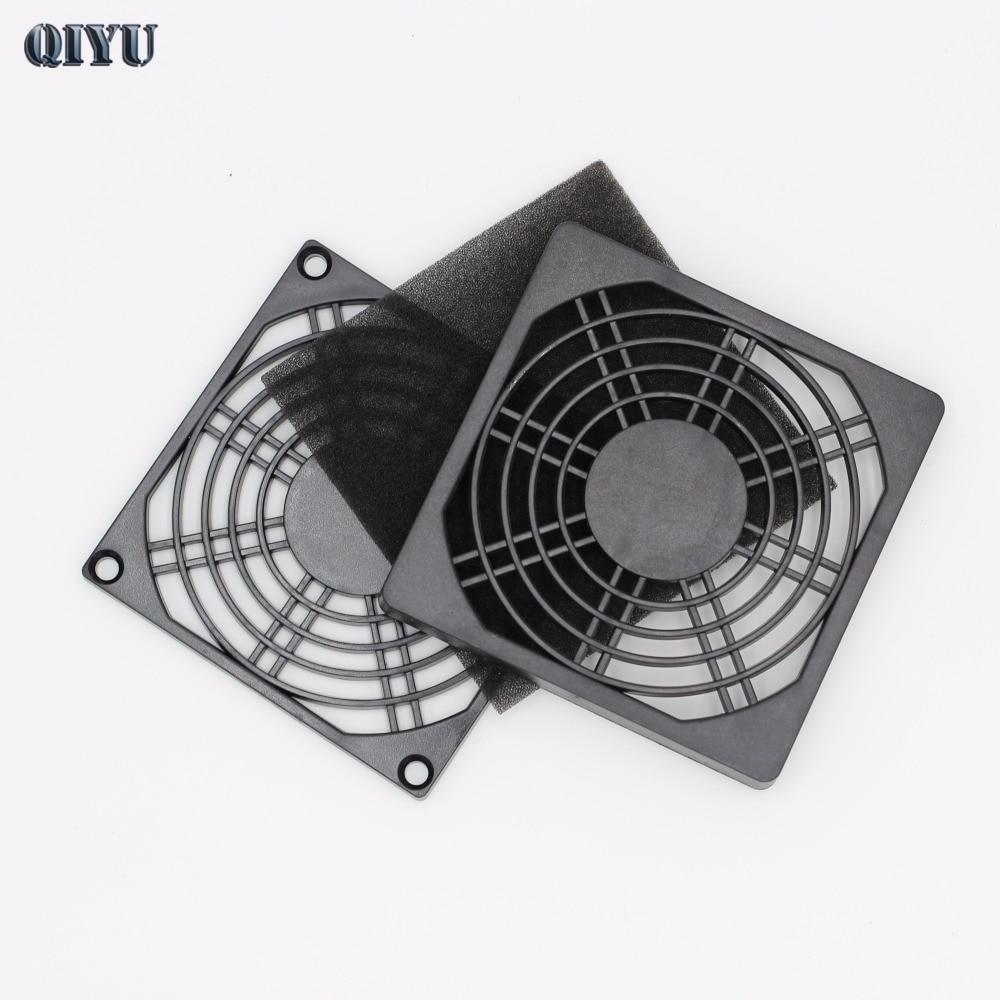 9 см вентилятора, 9225 вентилятор решетки вентиляции, 9238 промышленных вентилятор и пыли, черный пластик сетка