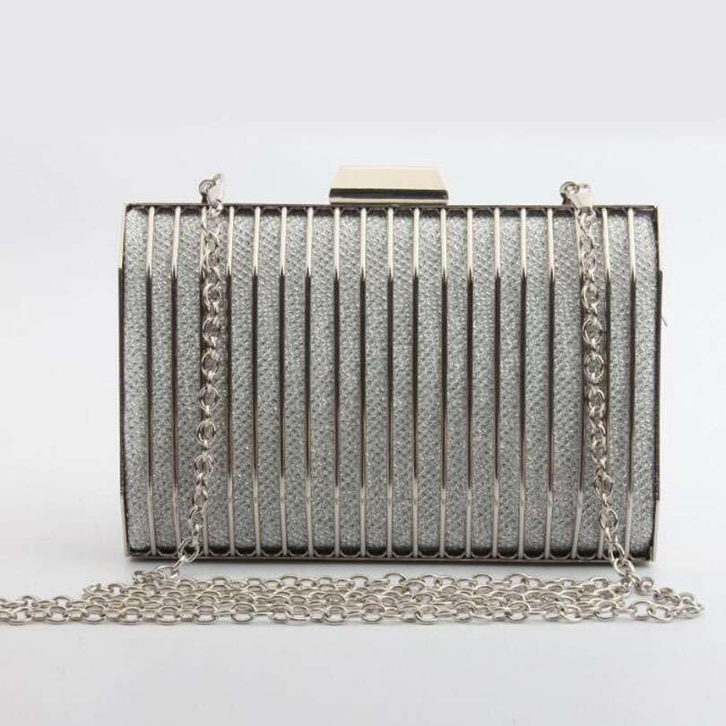 Clutch-Bag Wedding-Handbags Color-Chain Shoulder Party Female Evening Women Fashion Day