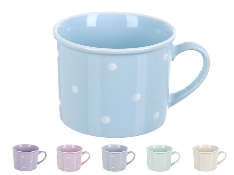 Mug ENS, Fun polka dot 300 ml polka dot striped bandana