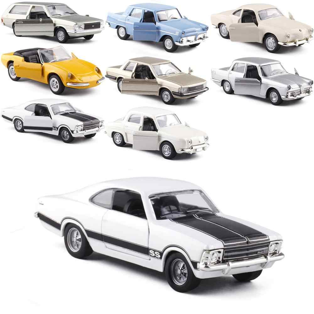 HOMMAT Simulation 1:43 Vintage Ford Chevrolet Alfa Romeo Model Car Alloy Diecast Toy Vehicle Car Model Cars Toys For Children