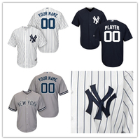 Men S New York Yankees Jersey MLB Home White Custom Any Name Any Number Player Jersey
