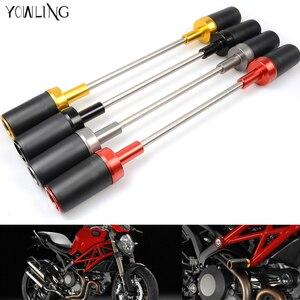 Image 1 - Quadro da motocicleta slider bater protector caindo proteção para ducati monster 696 796 795 monster696 monster795 monster796 1100