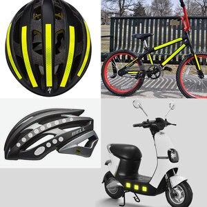 Image 5 - Reflektierende Fahrrad Aufkleber Klebeband Für Bike Sicherheit Weiß Rot Gelb Blau Fahrrad Aufkleber Fahrrad Zubehör