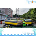 Sea Shipping 8 People Version Sweeper Gonflable Inflatable Meltdown Wipeout Course Eliminator For Sale