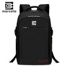 MARCELLO Backpack Men Women Backpacks Bag for 15 6 Laptop Notebook Bag Mochila Feminina Backpack School