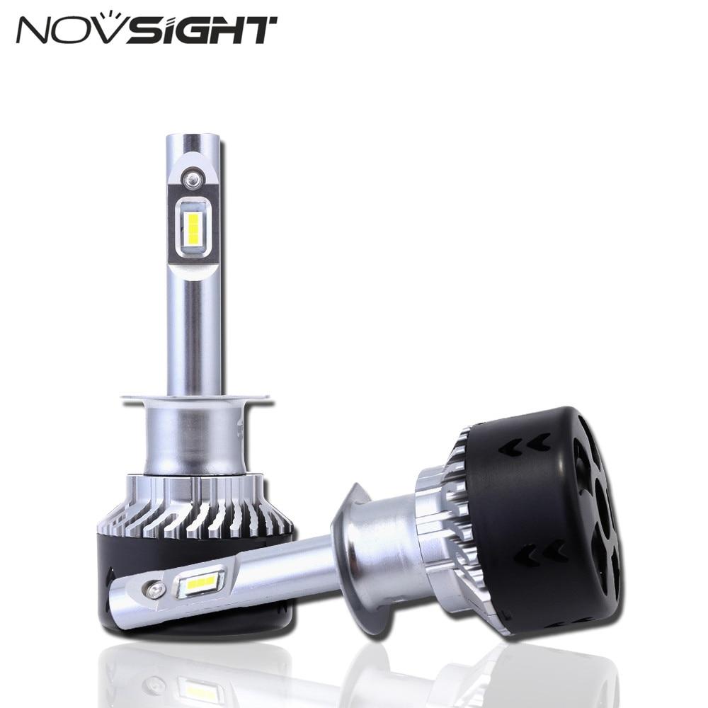 NOVSIGHT H1 Voiture LED Phares 70 W 10000LM Auto Conduite Brouillard Ampoule Projecteur 6500 K Tout-En- un D40