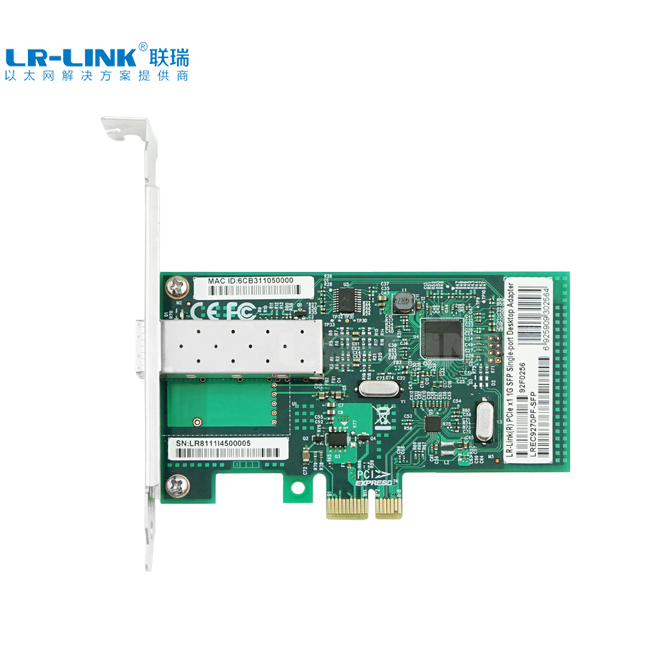 Details about Gigabit Ethernet Lan Card PCI-E 1x SFP Network Card Adapter  PC Realtek RTL8111H