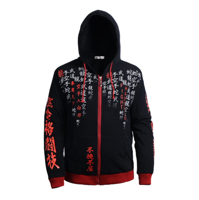 MMA tops black Trainning & Exercise Sweaters 061 Hoodie 1