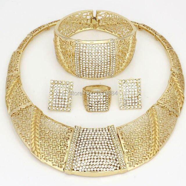 sale CZ 2017 Bling-Bling Gold Fashion Jewelry Sets Chunky Necklace Bangle Black Women  sc 1 st  AliExpress.com & sale CZ 2017 Bling Bling Gold Fashion Jewelry Sets Chunky Necklace ...