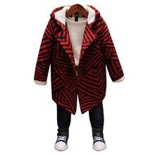 Boys wool coat children's fashion Korean version of the wild woolen coat children's clothing winter new boy's woolen coat