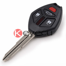 Новый Keyless Дистанционного Ключа Fob 4 Button 313.8 МГц ID46 Чип для 2007-2012 Mitsubishi Eclipse Galant