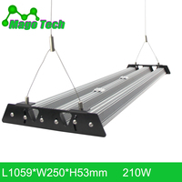 210W 1M LED Grow Light Heatsink Grow Strip Light Aluminum Heat Sink Grow Lighting Heatsink Only