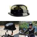 Black White Motorcycle Helmet Motorcross Capacete German Half Helmet for Harley Team Cascos Para Moto Casco Motorcross Helmet