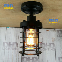 Loft RH Industrial Warehouse Ceiling Light American Country Lamps Vintage Lighting For Restaurant Bedroom Home Decoration
